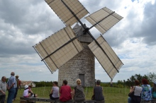 Moulin à vent de Boisse © M-F Plagès.