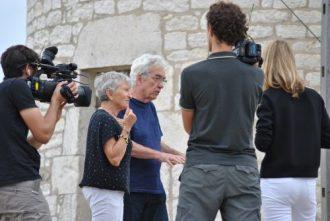 L'équipe de tournage © M-F Plagès