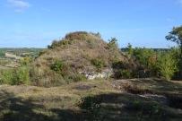 Motte castrale de Maurélis ©M-F Plagès.